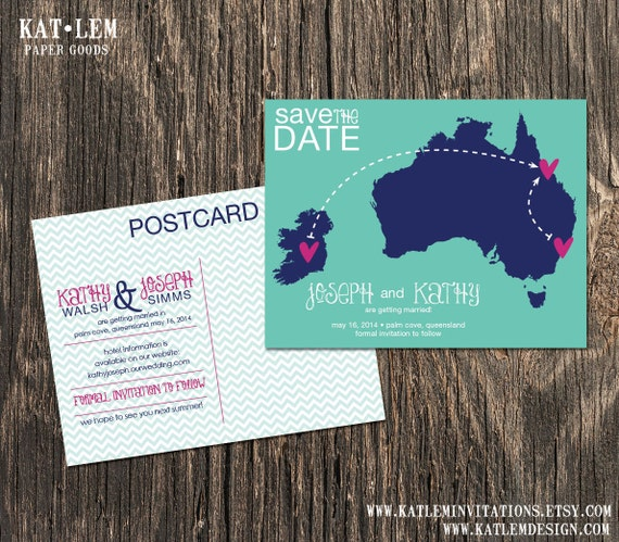 The wedding date in Australia