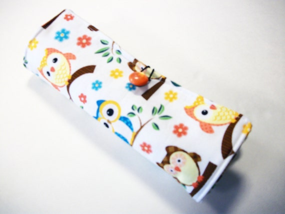 Pill Box Cover with 2 Pockets pdf Pattern