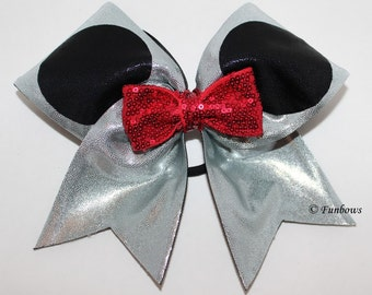 Oh Mickey -  Disney Cheerleading Hairbow competition with glitz