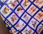 Dick and Jane Children's Quilt - custom order for kerryhardiman1