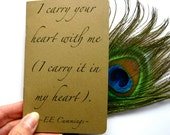 EE Cummings Journal/Card