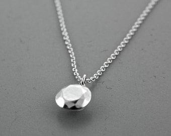 "Brilliant Cut ""Diamond"" Necklace"