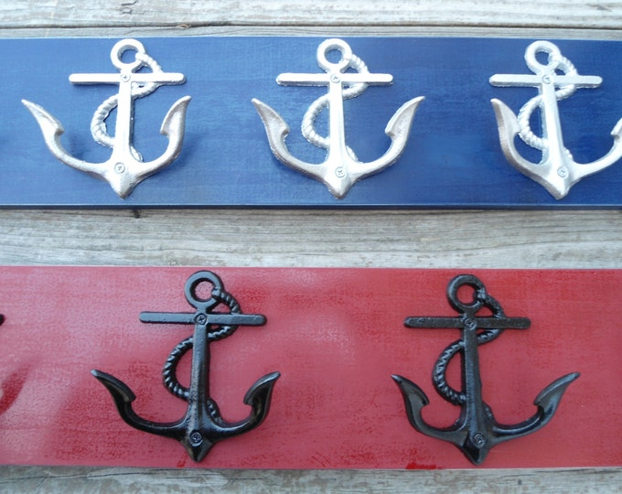 Anchor nautical beach decor outside towel rack pool hot tub towel lake cottage renovation housewarming interior design custom bathroom decor
