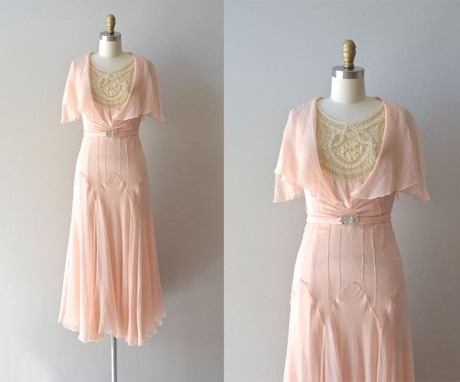 r e s e r v e d silk 1920s dress vintage 20s dress