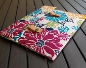13 MacBook Case / 13 MacBook Air Case / 13 MacBook Pro Case / 12 MacBook Cover / 13 MacBook Sleeve / Padded Case - Springtime Brights