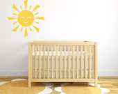"Sun Wall Decal Nursery Decal 22""  DB248"