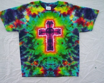 Cross Tie Dye Size Medium
