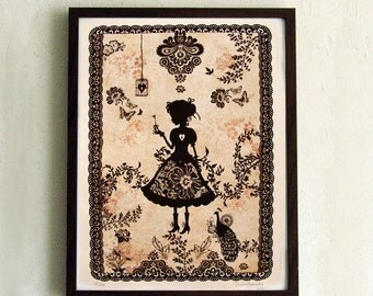 Limited Edition Print - Miss Shadow 2/10