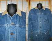 Vintage 80s Ralph Lauren Polo jean jacket mens size small