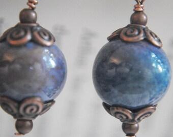 Lady Copper-Smith - Earrings Design 1