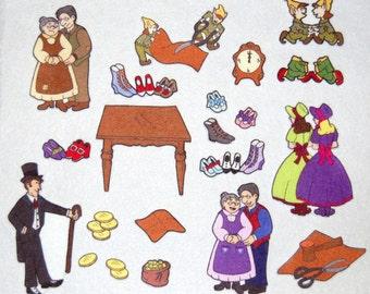 The Elves & the Shoemaker-  Felt /  Flannel Board Set