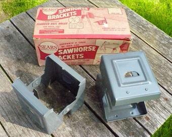 Sears Roebuck and Co. Sawhorse Brackets
