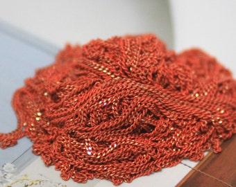 The shiny orange chain