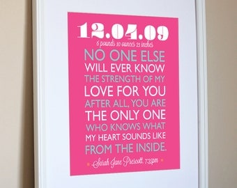 Pink Nursery art baby girl Baby Shower Wall quote Pink Nursery decor Gift for baby 1st birthday 3rd birthday 2nd birthday lavender print