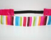 Tutti Frutti Stripe No Slip Headband