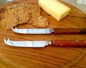 Pair of Cheese Knives For Entertaining