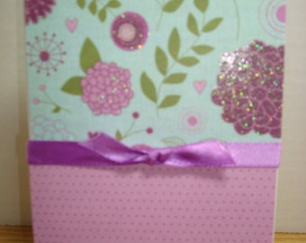 Handmade Mothers Day Card by The Craftie Chicks