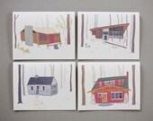 Cabin Cards // Set of 8