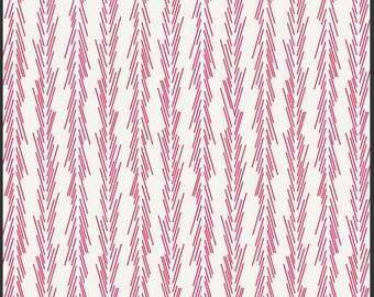 SPRING Sale - 1 1/2 Yards - Color Me Retro - Dulcette in Azalea - Jeni Baker - Art Gallery Fabric