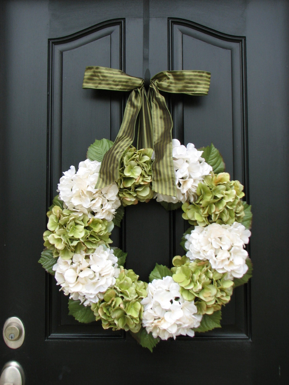 Home And Living Wreaths Hydrangea Wreath Spring
