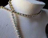 Rhinestone Chain SS18 Preciosa FULL Yard in AB/Raw  for Tribal Fusion, Jewelry or Costume Design