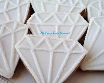 Diamond bling cookies 1 dozen