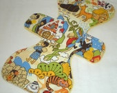 Kawaii Anime in Storyland - Gingerbread - 11 inch Cloth Pad - Cotton Top