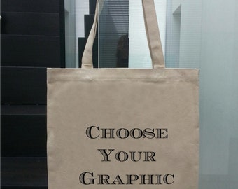 Canvas Tote Bag - Choose Your Image
