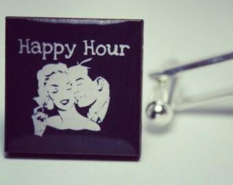 Happy Hour Cufflinks