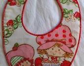 Strawberry Shortcake Bib