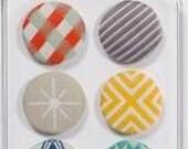 Fabric Brads - Chaps - American Crafts