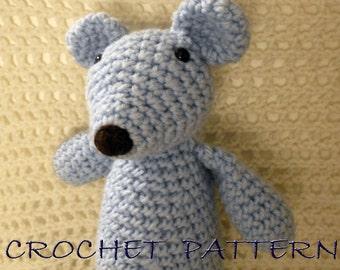 Baby Bear Crochet Pattern