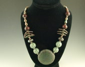 Beaded Necklace Set, Necklace, Earrings, One of a Kind, Celebrate Your Style with California Dreaming
