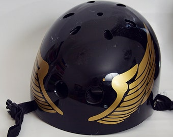 Wings Roller Derby Vinyl Helmet Decal Sticker