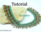 Cleopatra SuperDuo-Twin Necklace PDF Tutorial