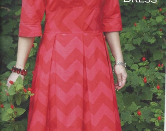 The Zoe Dress pattern (SDG-126) - Serendipity Studio