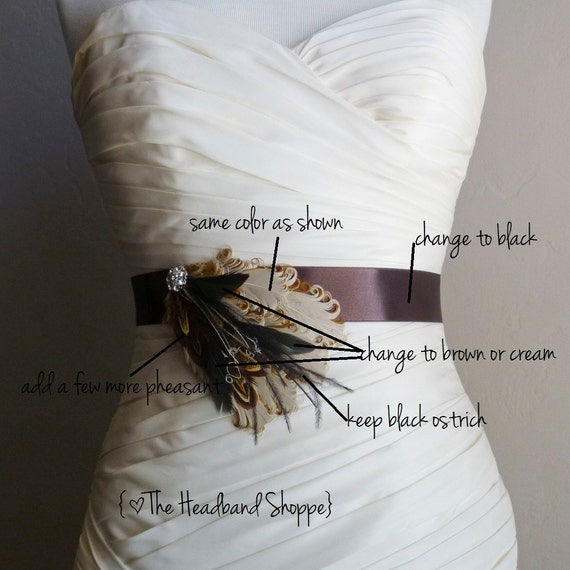Reserved for Elizabeth - Custom Sash - Needs by May 15