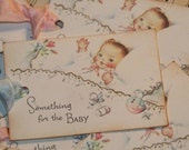 Something For The Baby Gift Tags , Baby Shower Tags, New Baby
