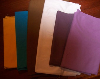 Swatches of 1 or 2 listed fabrics - your choice (Silks excluded) FREE SHIPPING