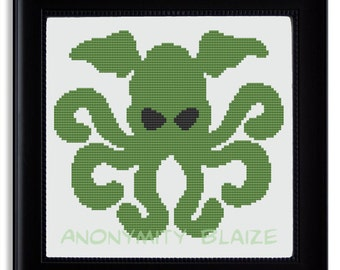 Cthulhu Cross Stitch Pattern