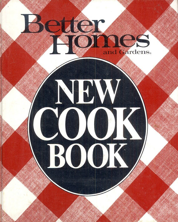 Better Homes And Gardens New Cook Book Vintage By Crabbycats