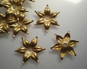 12 brass mirror rosettes, No. 11