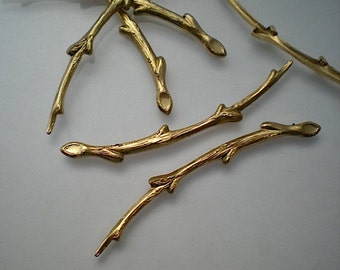 6 brass branch findings