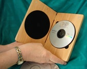 DVDCase,Cherry,SingleDVD,DVD,CD,Wood,Engraved,Personalized Engraving