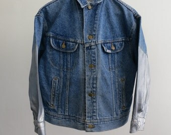 The Silver Sleeve Lee Denim Jacket