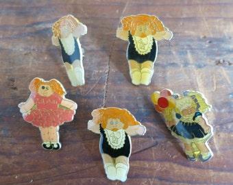 Cabbage Patch Kids Pin Set