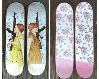 I Got Your Back Skate Deck, 2 Skateboards