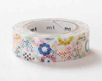 mt ex Washi Masking Tape - Colourful Pop