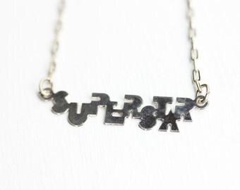 Sample Sale - Superstar Necklace
