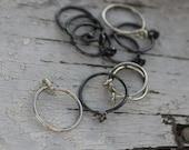 """Sterling Silver Hoop Earrings Item #400101 - """"Tiny Hoops"""""""